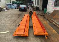 High visibility Yellow Black A3 Steel Spike Barrier For Traffic Control System
