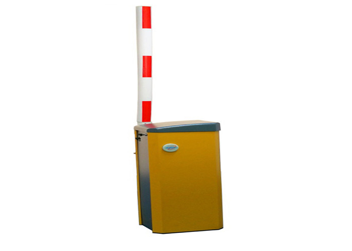 High Speed Dc 24v Motor Automatic Barrier Gate , Solar Power Freeway Security Boom Barrier
