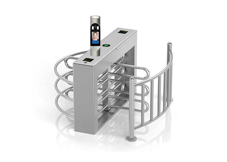 Passage Control Bi directional Face Recognition Turnstiles SS304